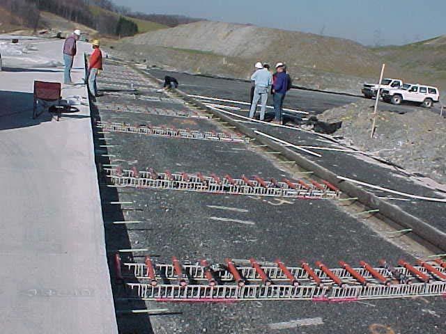 Dowel Bar Installation Modern Concrete Drill Cut Co Ltd